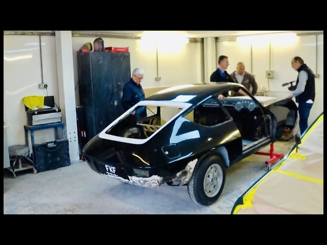 Lancia Fulvia Zagato 1600 restoration Part 5. Mechanicals done, time for paint
