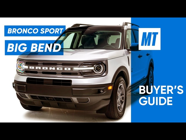 Is the Bronco Back? 2021 Ford Bronco Sport REVIEW | MotorTrend Buyer's Guide