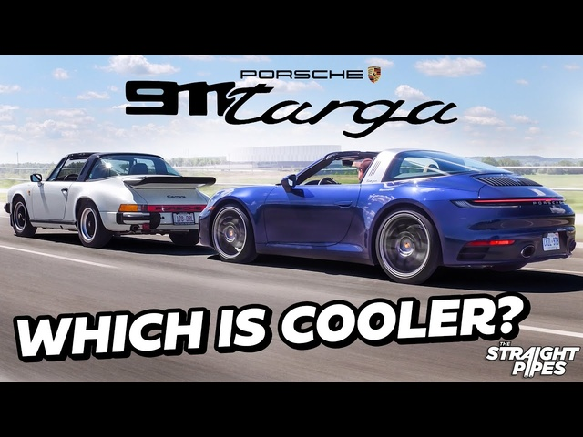 LEGENDARY! 2021 Porsche 911 Targa vs 1986 Porsche 911 Targa