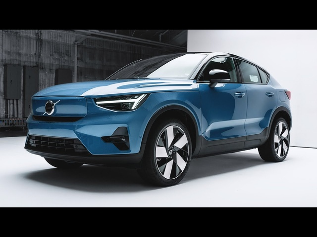 Electric Hatchback! 2022 Volvo C40 Recharge FIRST LOOK   MotorTrend
