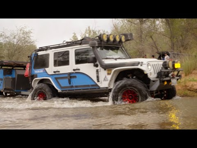 2021 Overland Adventure | Shelf Trails, River Crossing | Presented by Jeep