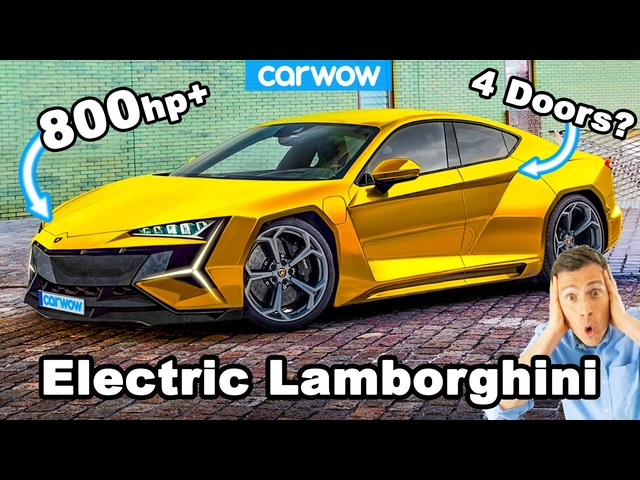 New Lamborghini 800hp ELECTRIC CAR -what you need to know!