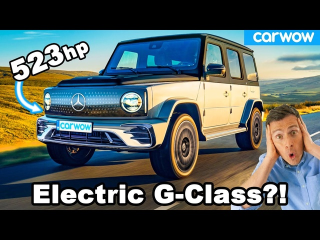 New Mercedes EQG -the G-Class goes ELECTRIC with 523hp!