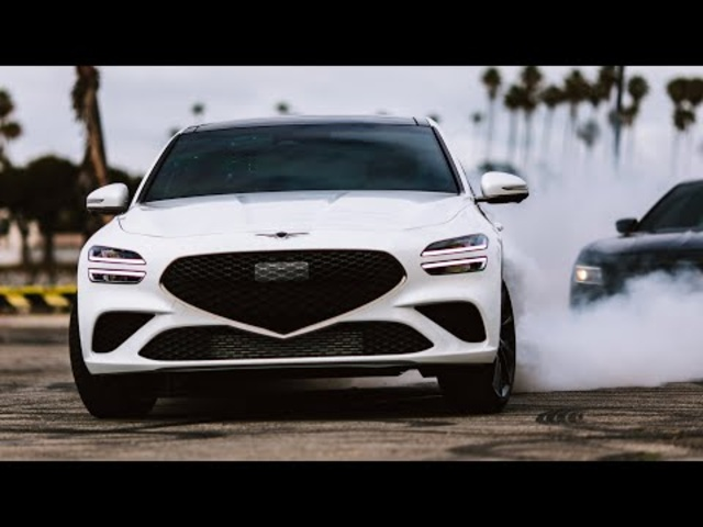 Car Chase Stunts! Genesis G70 Shutter Speed 3.0 Ep. 1   MotorTrend