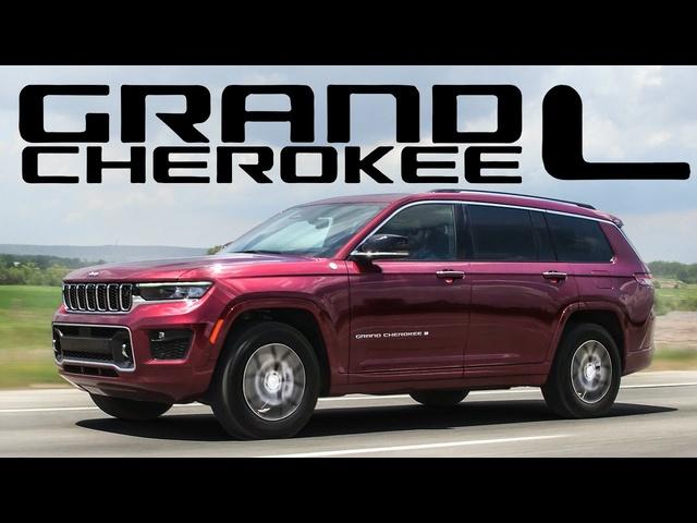 2021 Jeep Grand Cherokee L Review -3 ROW LUXURY OFF ROAD MINIVAN ALTERNATIVE!