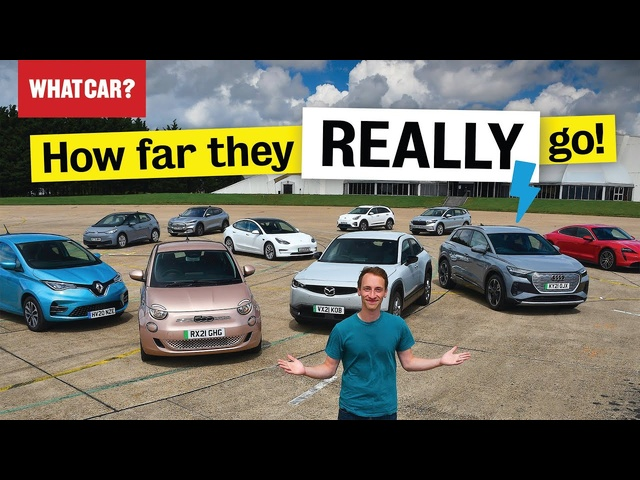 Electric car real-world range test – FULL RESULTS | Tesla Model 3 vs rivals | What Car?