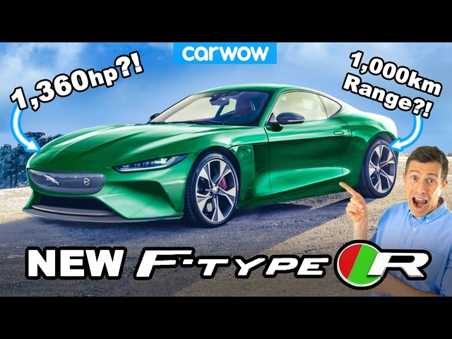 New Jaguar F-Type R -an EV with 1,360hp and 1,000KM range?