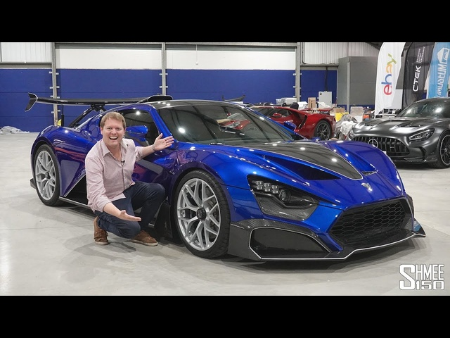 The First Hypercar at The Shmuseum! Brutal ZENVO TSR-S