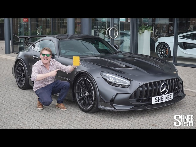 Respraying My AMG GT Black Series! This is Why...