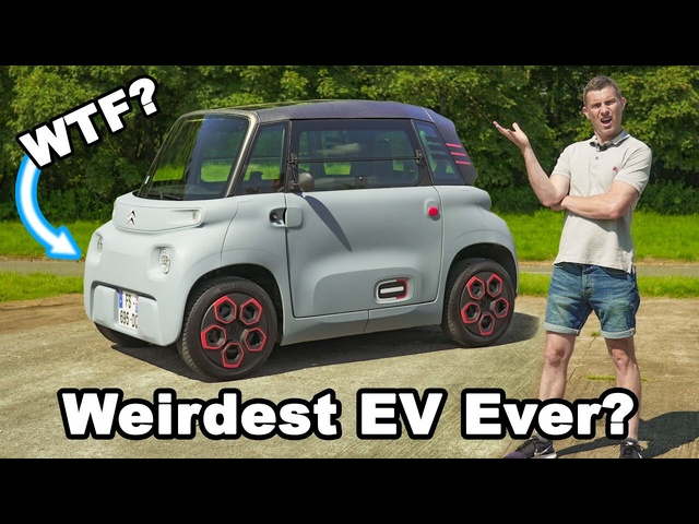 Citroen Ami review -an EV you can drive from 14 years old!