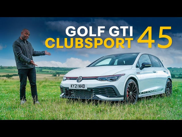 NEW VW GOLF GTI Clubsport 45: The GTI Just Levelled UP!