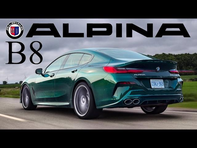2022 <em>BMW</em> Alpina B8 Review -ULTRA LUXURY GRAND TOURER