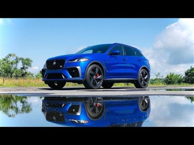 2021 Jaguar F-PACE SVR | More Power, Incredible Sounds