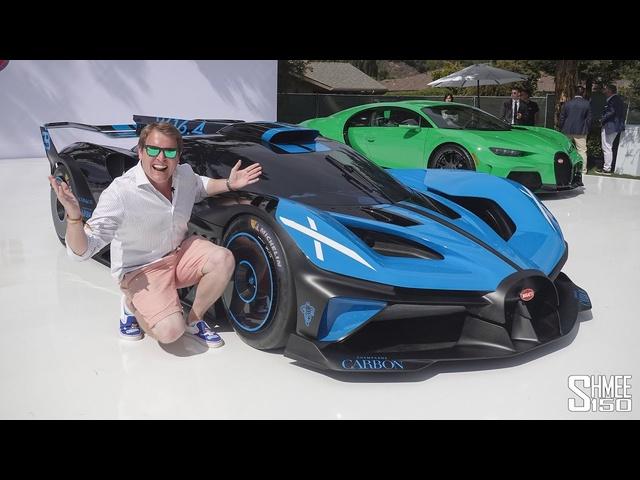 HYPERCAR HEAVEN! Bugatti Bolide, <em>Lamborghini</em> Countach and Much More