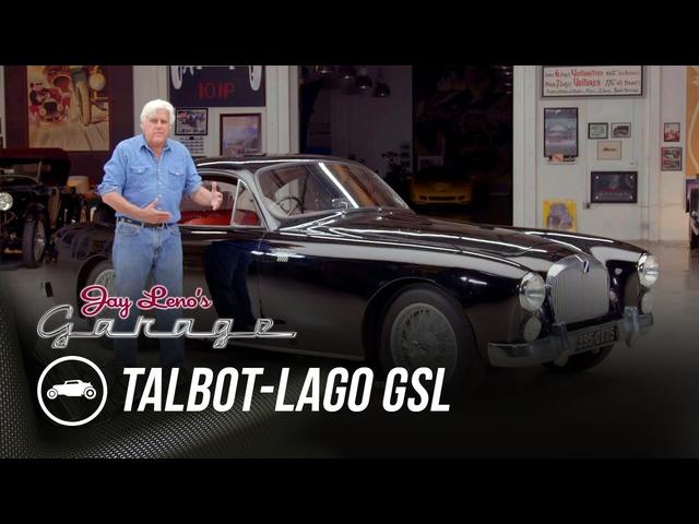 The Missing Talbot-Lago -Jay Leno's Garage