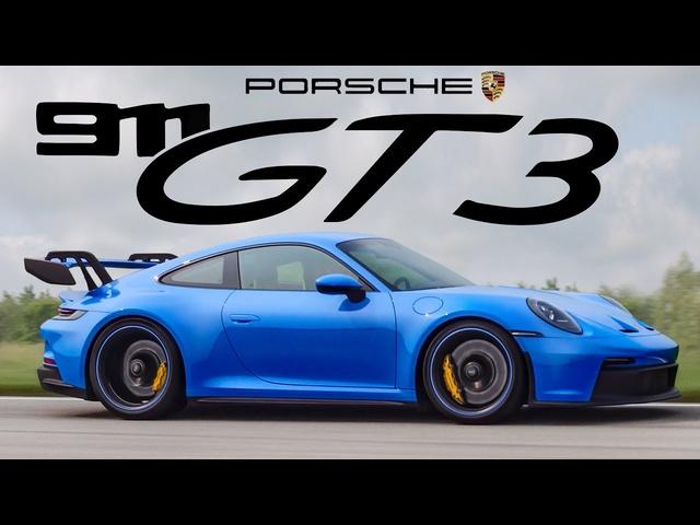 2022 Porsche 911 GT3 Review -THE BEST NEWEST PORSCHE