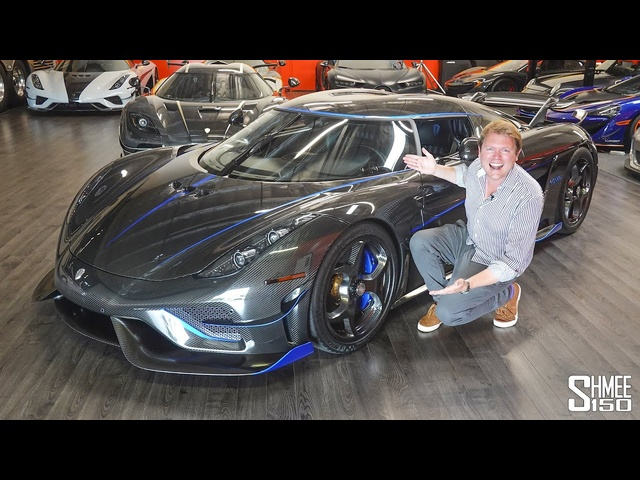 New Koenigsegg Regera HONEY! My First Drive in the World's Most Unique Hypercar