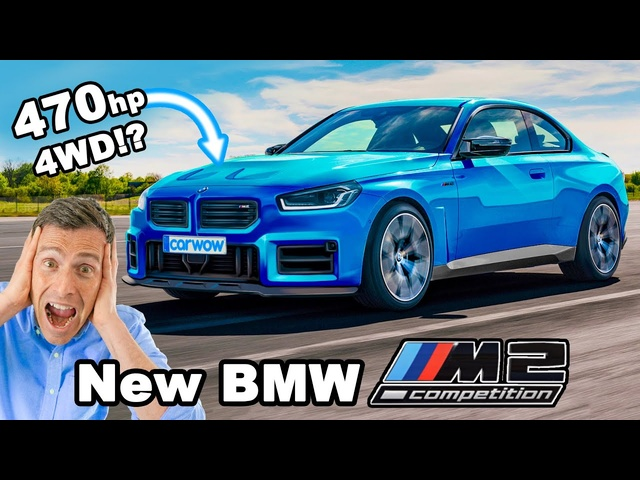 New <em>BMW</em> M2 Competition -it'll have 4WD & 470hp!!