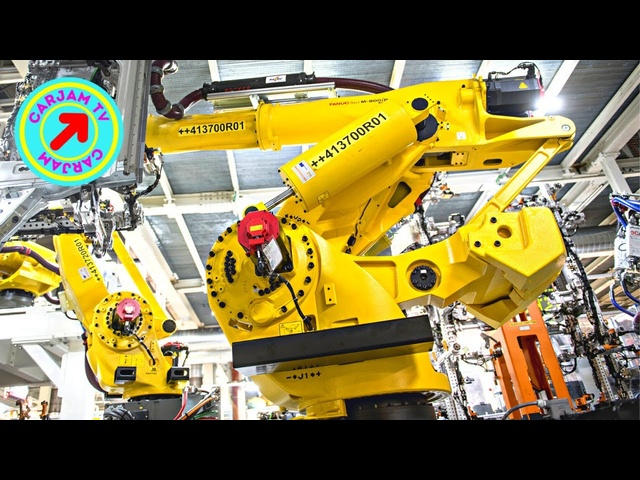 Automotive Giant Largest Robot Seat History Watch Biggest Robots 4K Video CARJAM TV 2021 #robot