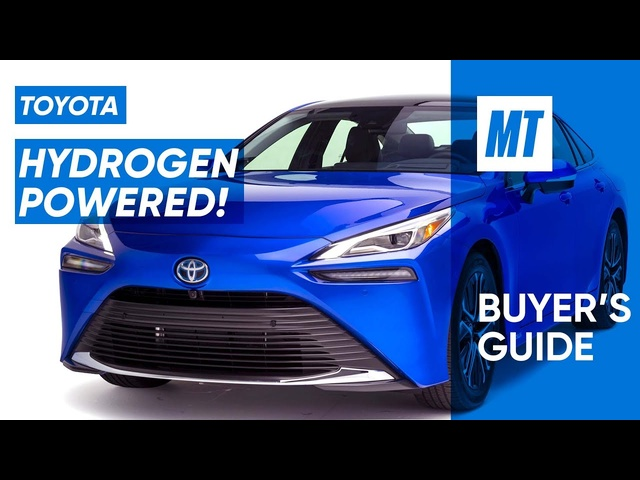 Can This Car Take Hydrogen Mainstream? 2021 Toyota Mirai REVIEW | MotorTrend Buyer's Guide