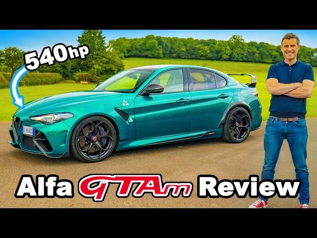 Alfa Romeo Giulia GTAm review -the ultimate performance saloon?