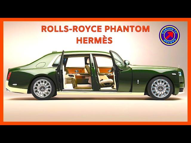 World's most Expensive Car Interior Rolls-Royce Hermès Interior Bespoke One Of AKind Car 4K CARJAM
