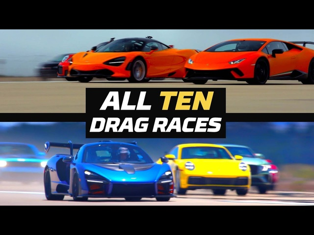 10 Years of World's Greatest Drag Race! All Races 2011-20 | MotorTrend