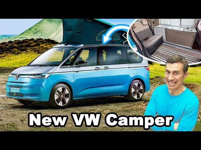 New VW California 2022 -is this the best campervan in the world?