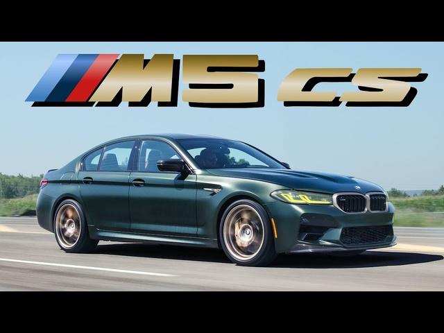 THE FASTEST! 2022 <em>BMW</em> M5 CS Review