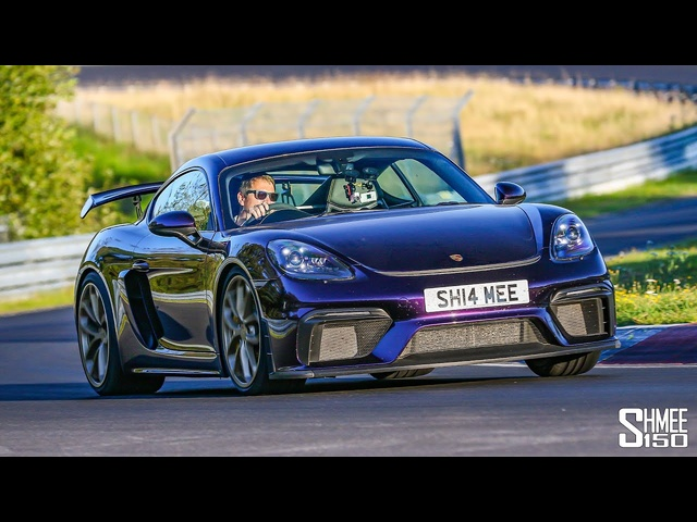 This is Why IBought My Porsche 718 GT4! First Nurburgring Laps