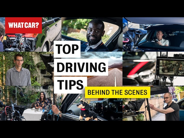 Behind the scenes of our Vitality top driving tips video shoot | What Car? | Promoted