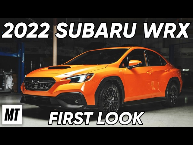 2022 Subaru WRX: First Look | MotorTrend
