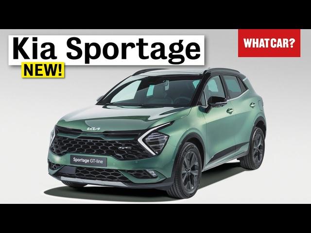 NEW Kia Sportage 2022 walkaround – best hybrid family SUV? | What Car?