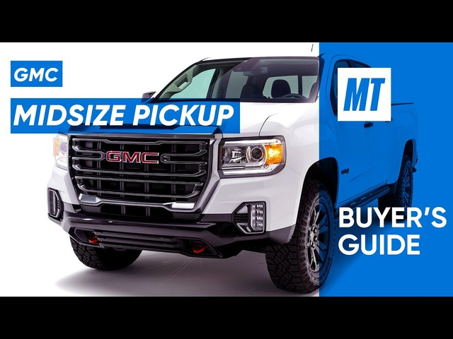 2021 GMC Canyon AT4 REVIEW | MotorTrend Buyer's Guide