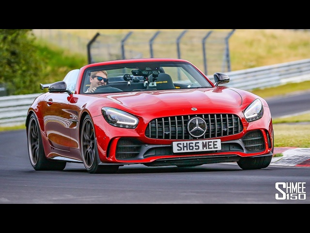 RIGHT CHOICE!? Nurburgring in My AMG GT R Roadster with New Seats Installed!