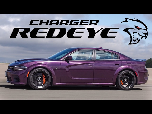 PERFECT GAS CAR! -2021 Dodge Charger SRT Hellcat Redeye Widebody Review