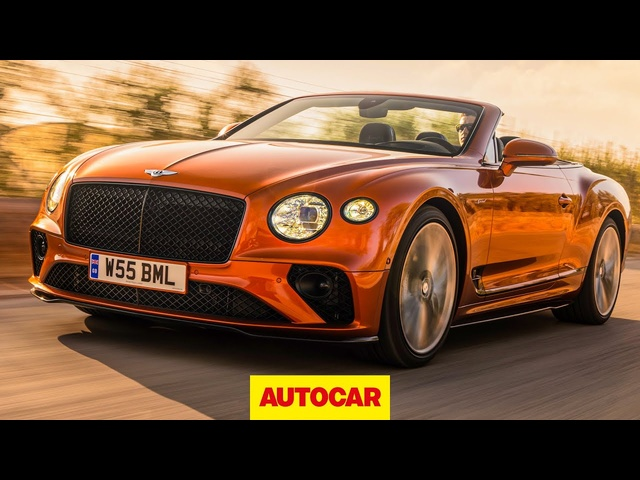 Bentley Continental GT Speed Convertible 2021 review -208mph luxury drop-top driven -Autocar