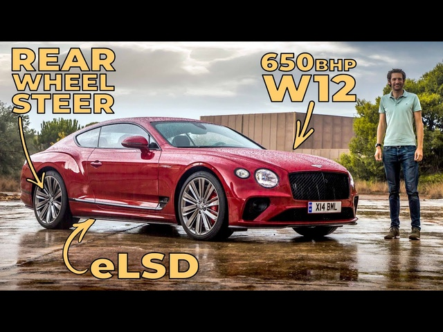 NEW Bentley Continental GT Speed Review: How They Made 2300kg Handle So Well | Carfection 4K