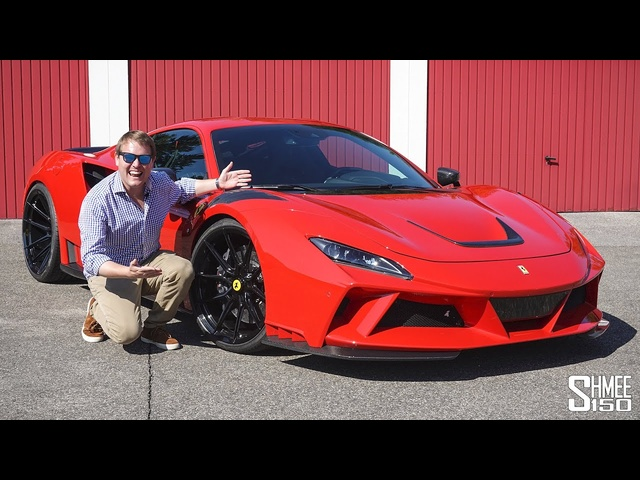 My First Drive in the EXTREME Novitec F8 Tributo N-Largo!