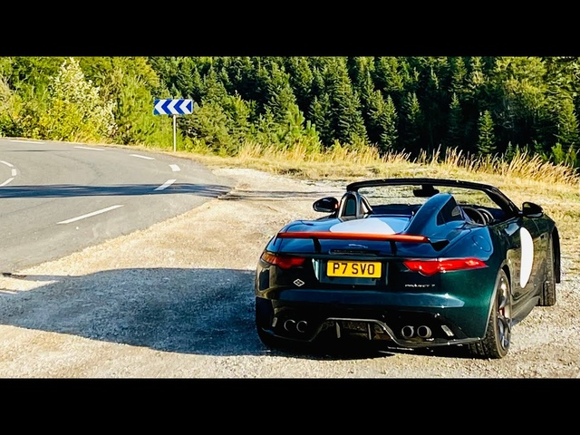 Jaguar Project 7 road trip special Part 2. 800 miles to Antibes via the N85 Route Napoleon