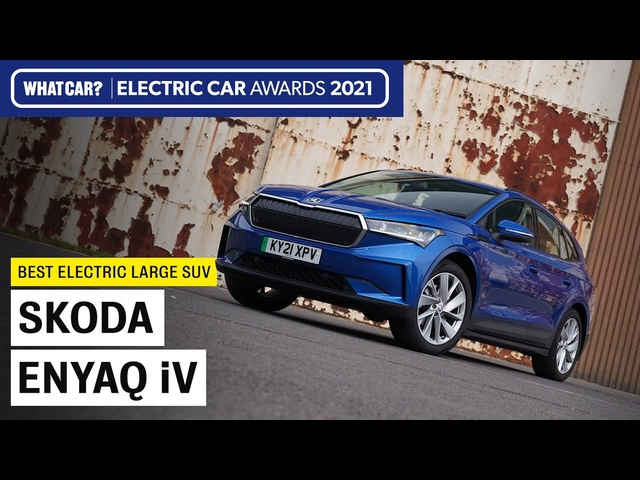 Skoda Enyaq iV: why it's our 2021 Large Electric SUV of the Year | What Car? | Sponsored