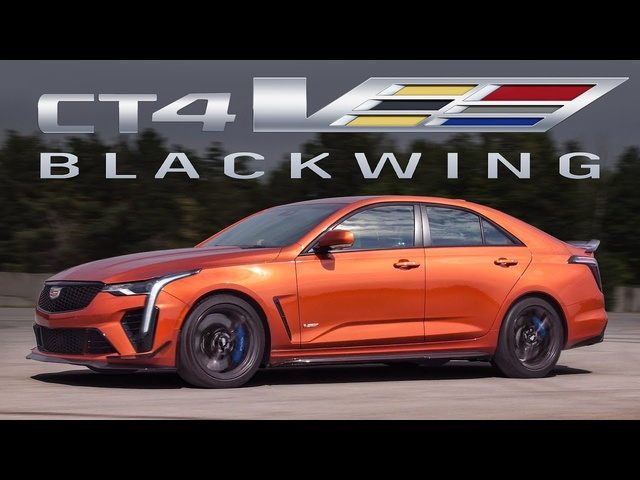 SURPRISE SPEED! 2022 Cadillac CT4-V Blackwing Review