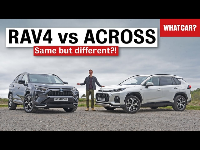 2021 Toyota RAV4 & Suzuki Across review – the best plug-in hybrid SUVs? | What Car?