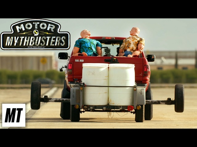 Can you escape afishtailing trailer? | Motor MythBusters | MotorTrend