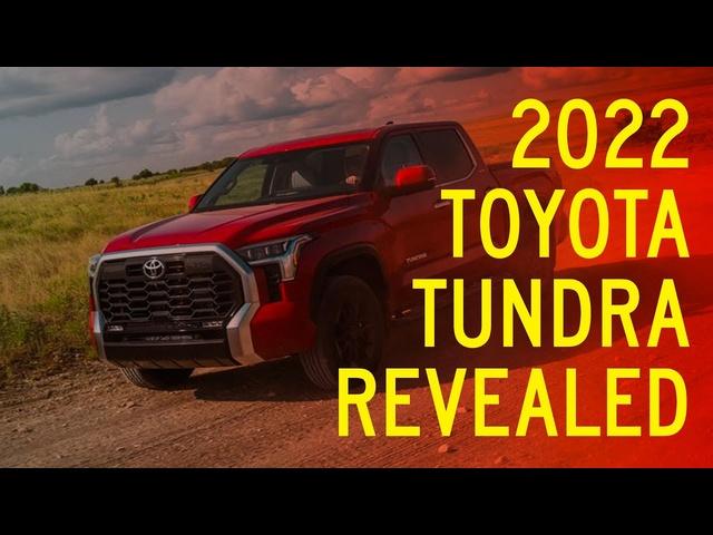 2022 <em>Toyota</em> Tundra Revealed, Takes Shots at Chevy, Ford, Ram Pickups