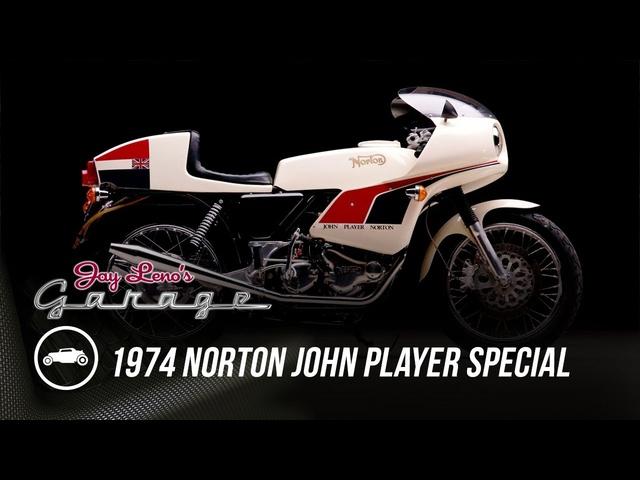 1974 Norton John Player Special   Jay Leno's Garage