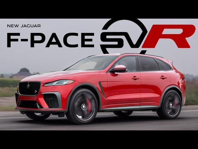 BEST SOUNDING CAR OF THE YEAR! 2022 Jaguar F-Pace SVR Review