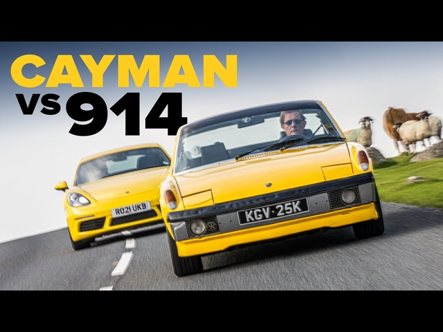 Porsche 914: The Forgotten 718 Cayman Of The Past   Carfection 4K