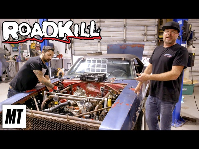 Turbo 2JZ in the Death Metal Charger!   Roadkill   MotorTrend