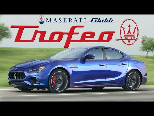 TWIN TURBO <em>FERRARI</em>! 2021 Maserati Ghibli Trofeo Review